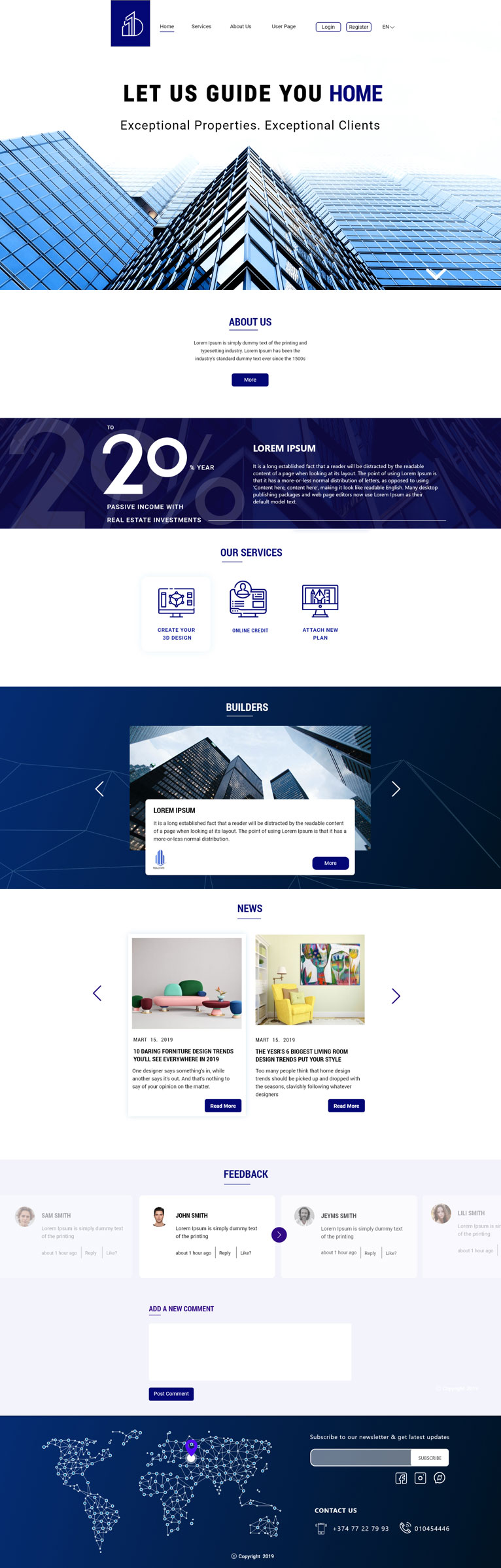 Web Design | Be Home