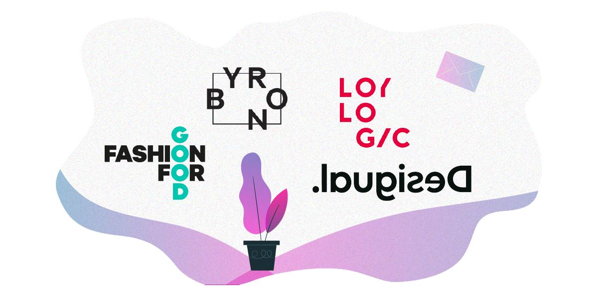 logo trends 2020 Chaotic Arrangement