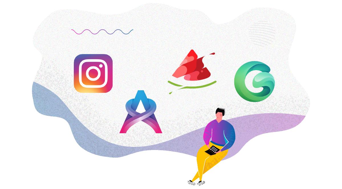 logo trends 2020 Hyper Minimalism