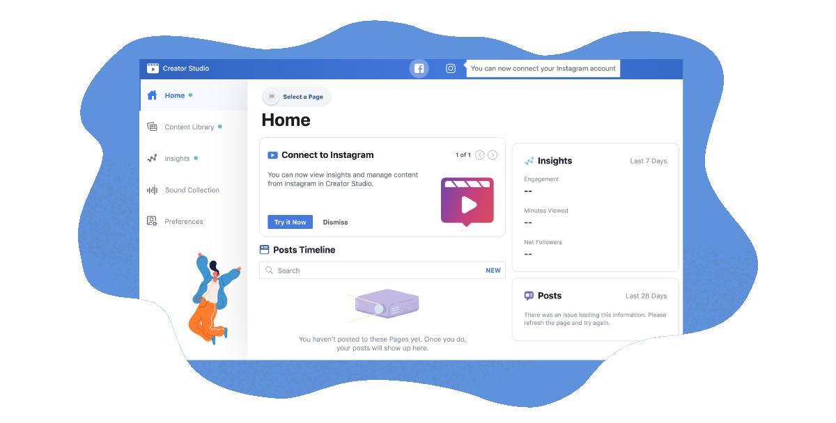FB algorithms change Management & Analytics in Creative Studio